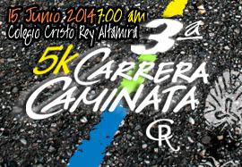 3era. Carrera 5k Colegio Cristo Rey