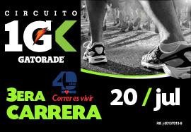 3era. Carrera XII Circuito Gatorade 20...