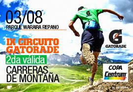 2da. Carrera de Montaña IX Circuito Gatorade Copa Centrum