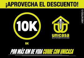 3ra 10K y Caminata 5K Unicasa