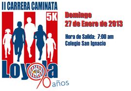 3ra. Carrera Loyola 5k