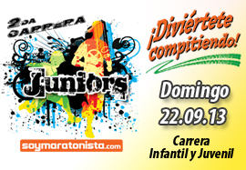 2da. Carrera Juniors SoyMaratonista