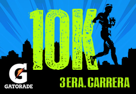 3era. Carrera 10k XI Circuito Gatorade