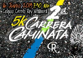 2da. 5K Carrera Caminata Colegio Crist...