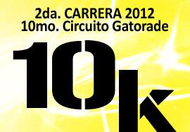 2da. Carrera X Circuito Gatorade 2012