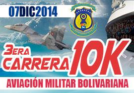 3era. Carrera 10k Aviación Militar Bo...