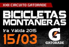 1era Valida MTB XXII Circuito Gatorade