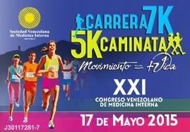 Carrera 7k y Caminata 5k Congreso Vene...