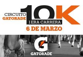 1era Carrera 10K XIV Circuito Gatorade