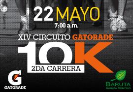 2da Carrera 10K XIV Circuito Gatorade