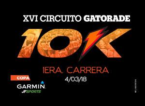 1era Carrera 10K XVI Circuito Gatorade...