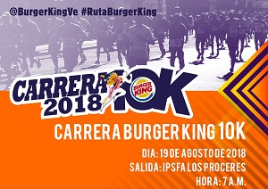 Carrera - Caminata Burger King