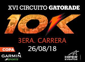 3era Carrera 10K XVI Circuito Gatorade...