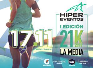 """1era Edicion 21K """"La Media"""" ..."""