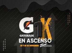 Gatorade 1K en Ascenso